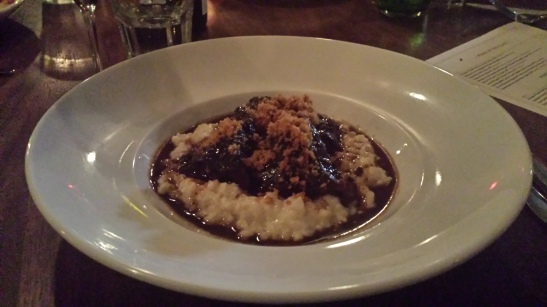 Cheeky - The Beef Cheeks and horseradish risotto