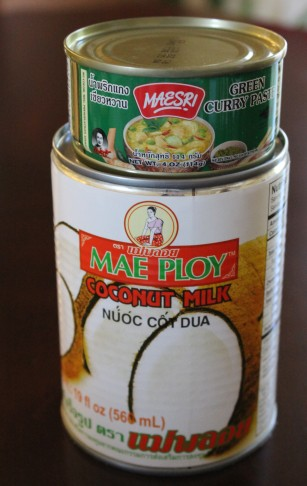 Yeah, it's curry paste in a can. And yo need this SPECIFIC coconut milk. Mae Ploy or gtfo.