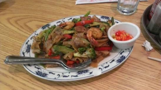 Lao Drunken Noodles