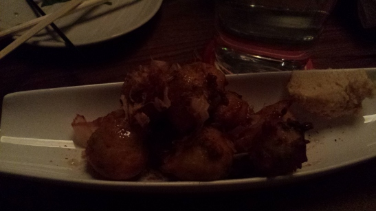 Dark, dark takoyaki - if you don't get this, you're doing it wrong