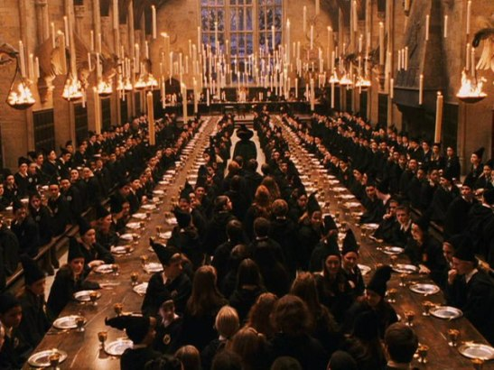 This ain't Hogwarts, fellas...